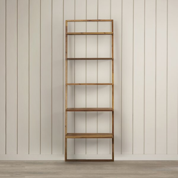 Lean Living Ladder Bookcase by Modern Rustic Interiors