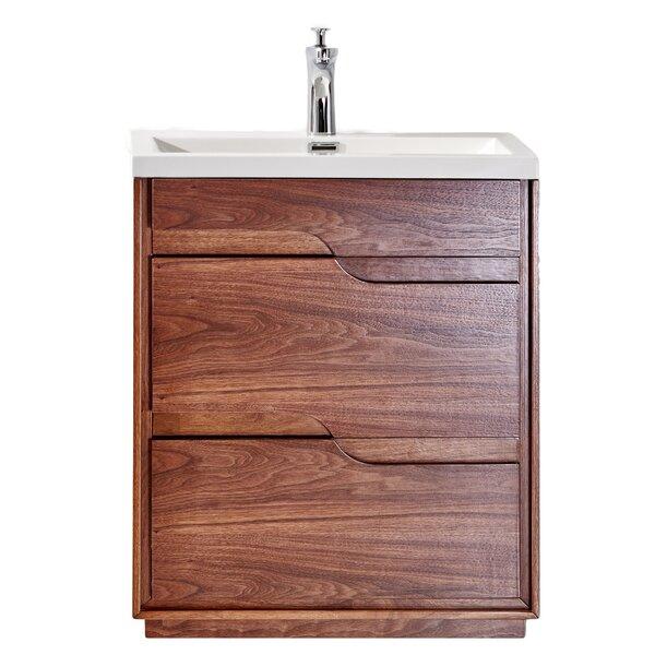 Ormes Wenge 26 Single Bathroom Vanity Set by Orren Ellis