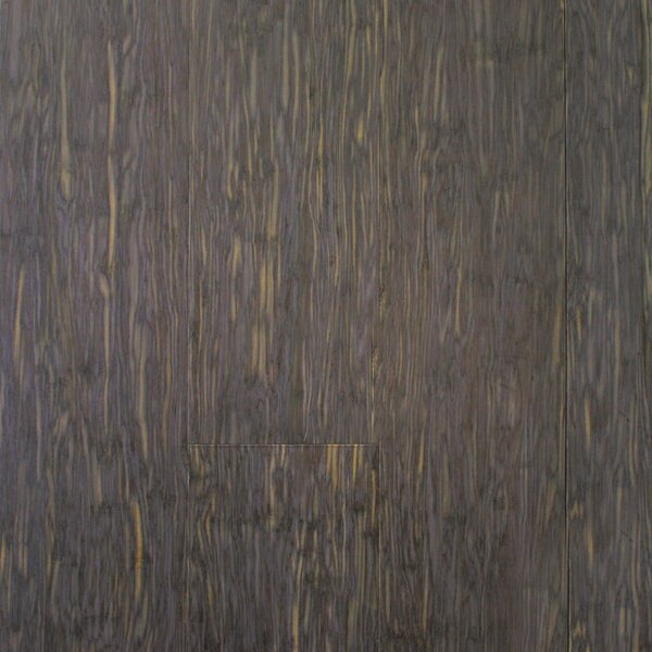 ColorFusion 4-3/4 Engineered Strandwoven Bamboo Flooring in Morning Mist by ECOfusion Flooring