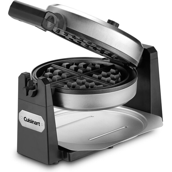 Rotating Round Belgian Waffle Maker by Cuisinart