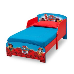 Paw Patrol Wooden Toddler Frame Bed