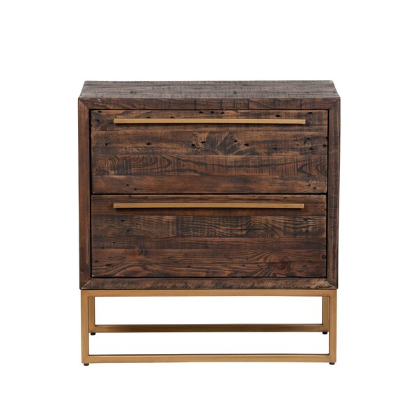 Nasim 2 Drawer Nightstand by Foundry Select