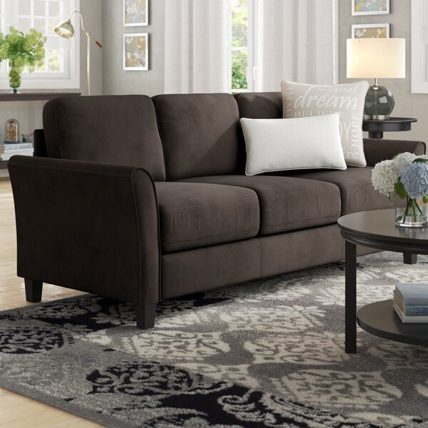 Celestia Curved Arm Sofa by Andover Mills