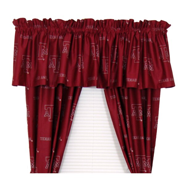 NCAA Texas A and M Curtain Panels (Set of 2) by College Covers