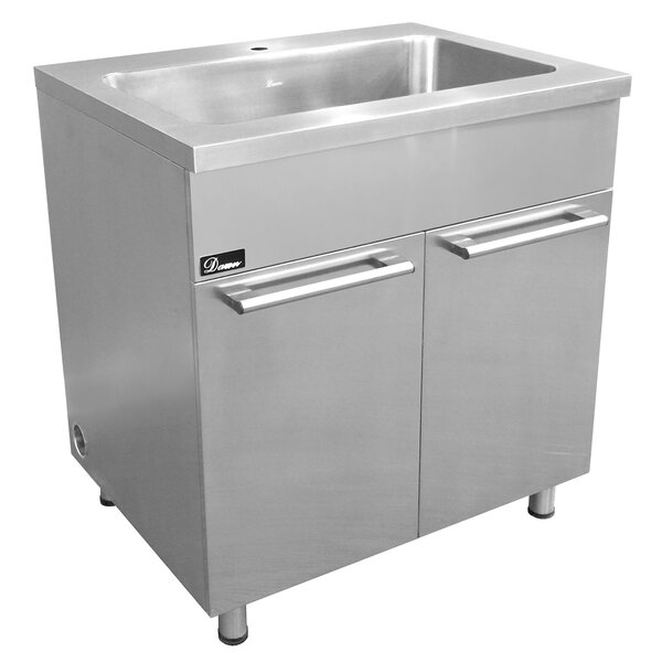 33 Stainless Steel Vanity Base by Dawn USA
