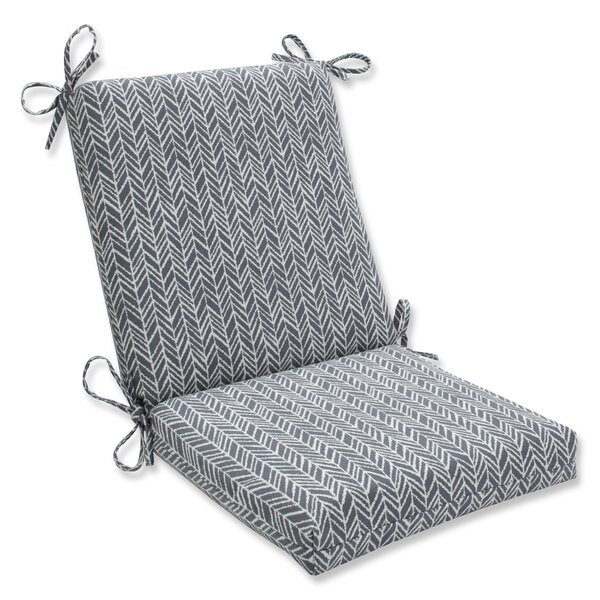 Herringbone Dining Chair Cushion by Pillow Perfect