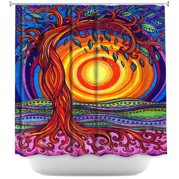Tree of Life Shower Curtain by East Urban Home