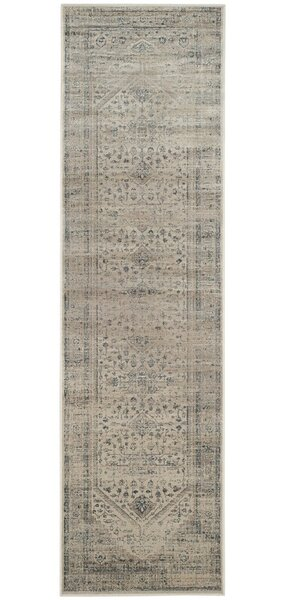 Lizotte Stone / Blue Area Rug by Bungalow Rose