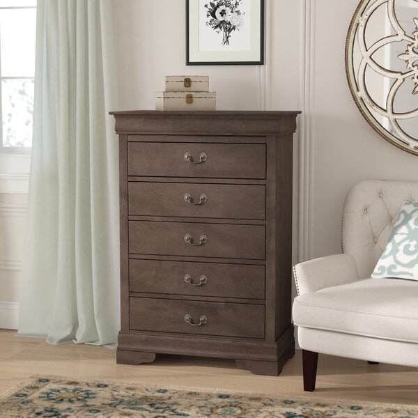 Babcock 5 Drawer Chest by Lark Manor