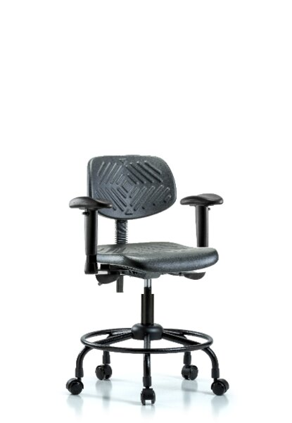 Noor Round Tube Base Office Chair by Symple Stuff
