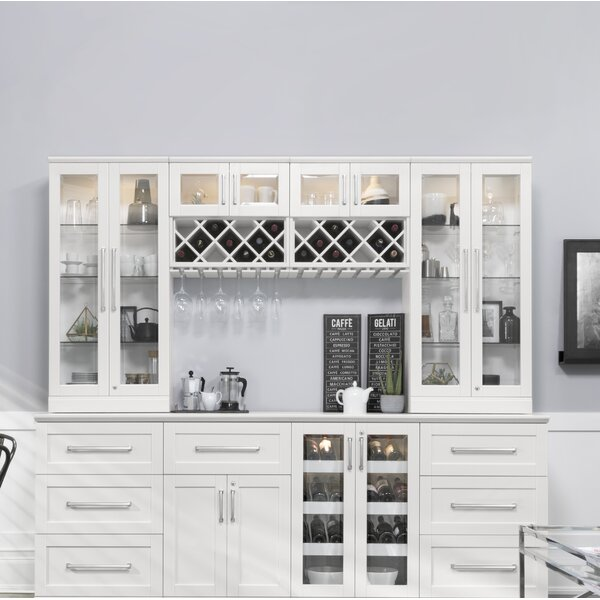 Home Bar 9 Piece Shaker Style by NewAge Products
