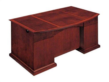 Del Mar Executive Desk by Flexsteel Contract