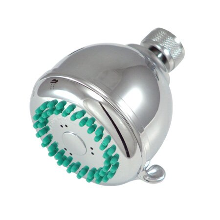 Barcelona Fixed Adjustable Shower Head by Kingston Brass