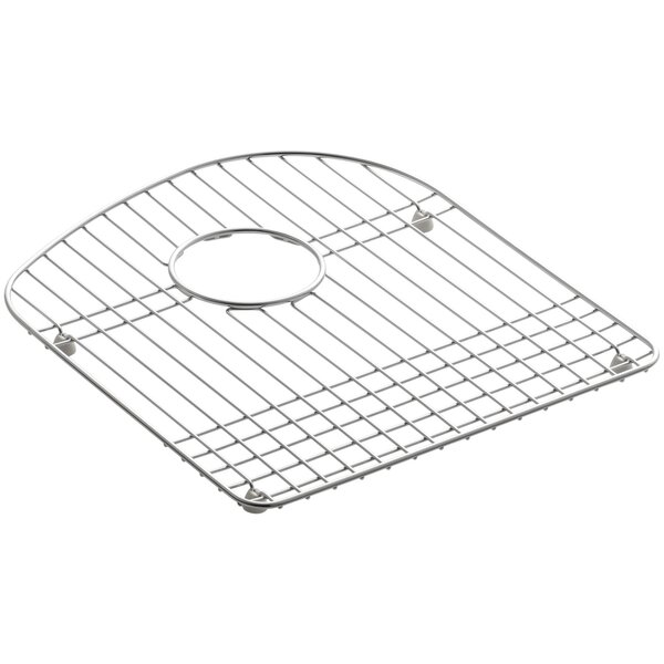Woodfield 13-3/4 x 15-3/4 Stainless Steel Sink Rack, for Right Bowl by Kohler