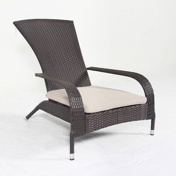 Sean Wicker Patio Chair with Cushions by Bayou Breeze Bayou Breeze