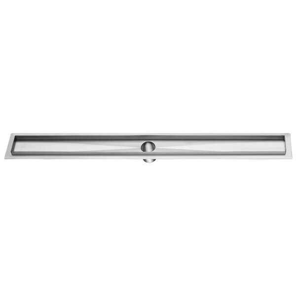 2 Linear Grid Shower Drain by Dawn USA