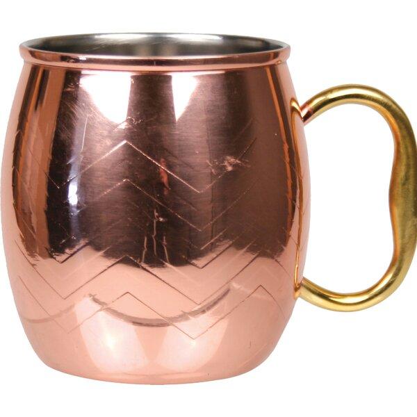 Moscow Mule Chevron Design 20 oz Mug by Jodhpuri