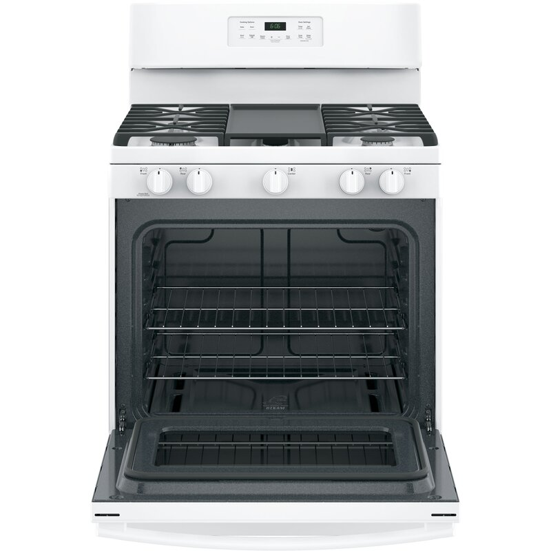 30 Free Standing Gas Range With Griddle