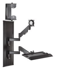 Workstation Series Wall Mount for Screens by Chief Manufacturing