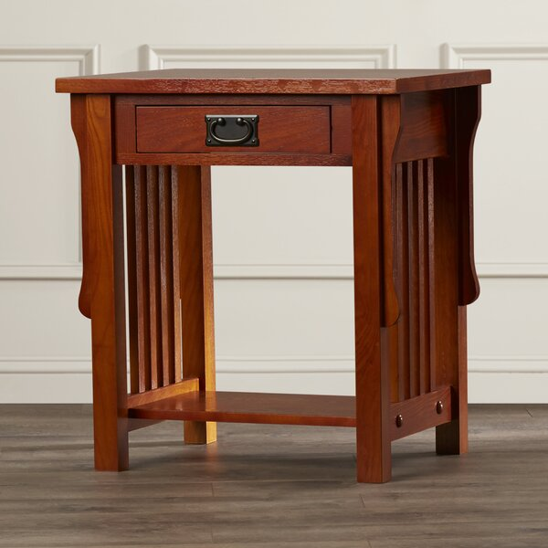 Hanning 1 Drawer Nightstand by Charlton Home