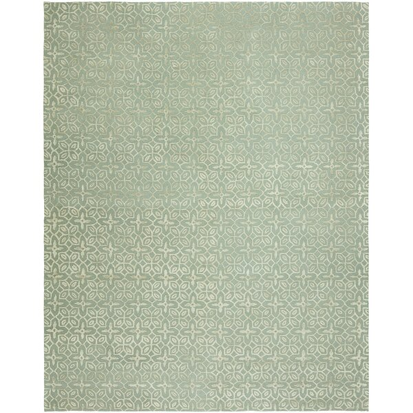 Bryleigh Hand-Tufted Wool Gray Area Rug by Ophelia & Co.