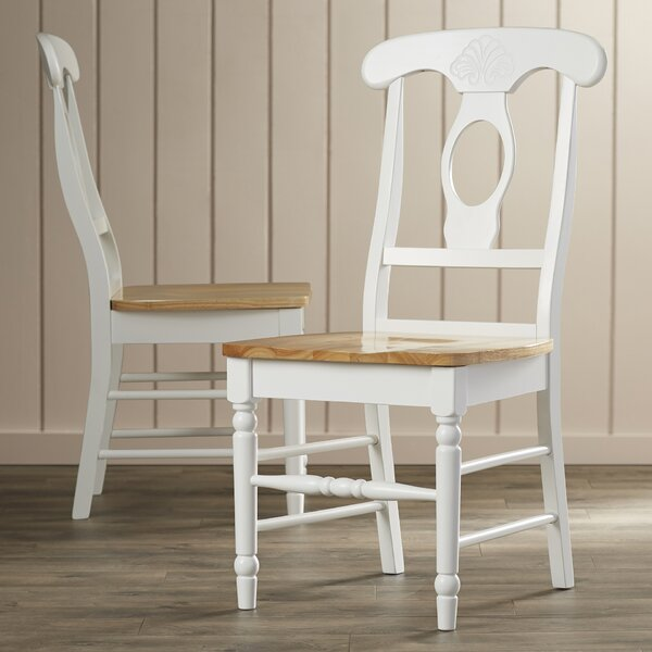 Ilka Solid Wood Dining Chair (Set of 2) by August Grove