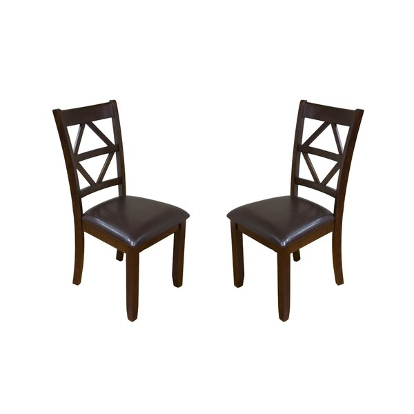 Annora Designer Solid Wood Dining Chair (Set of 2) by Millwood Pines