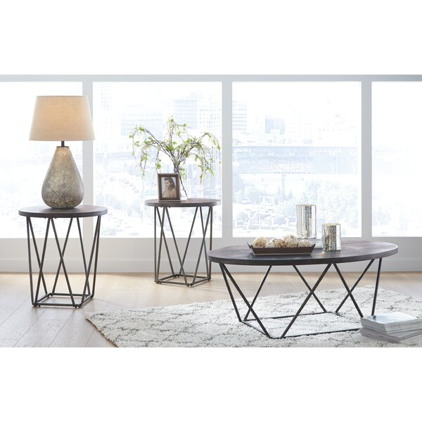 Melanie 3 Piece Coffee Table Set By Wrought Studio