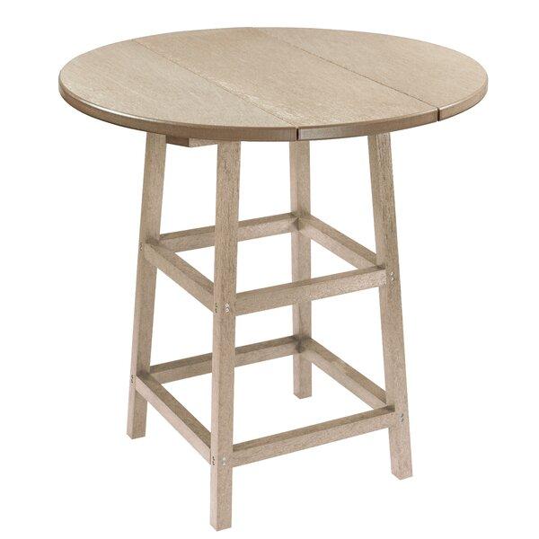 Kratochvil Plastic Bistro Table by Latitude Run