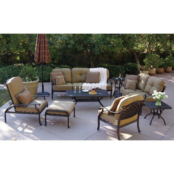 Lincolnville 8 Piece Sofa Set with Cushions by Fleur De Lis Living