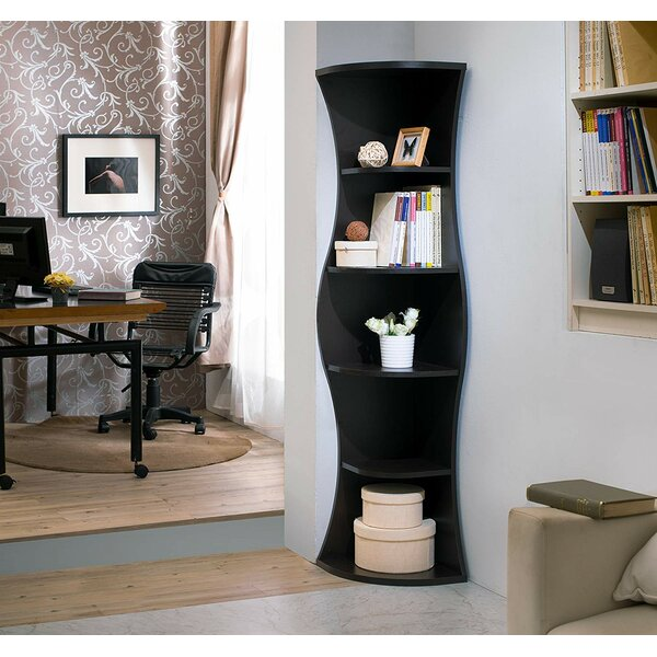Colello Corner Bookcase By Red Barrel Studio