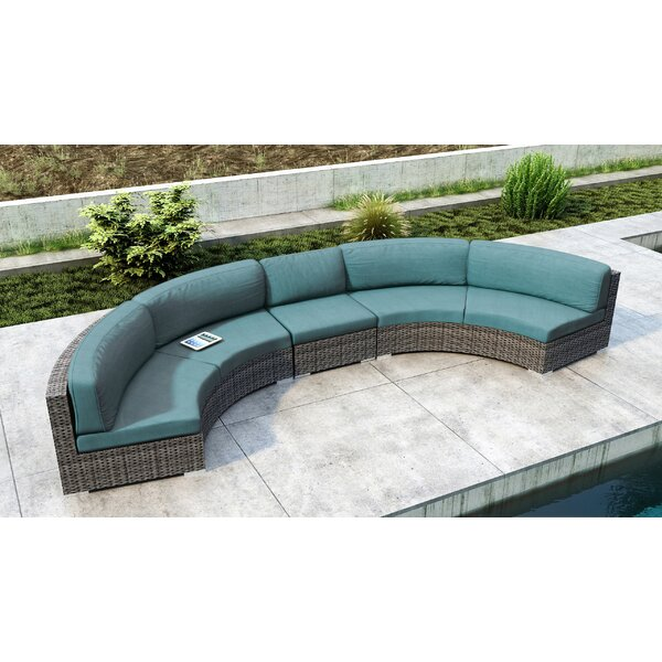 Gilleland 3 Piece Sunbrella Sectional Set with Sunbrella Cushion by Orren Ellis