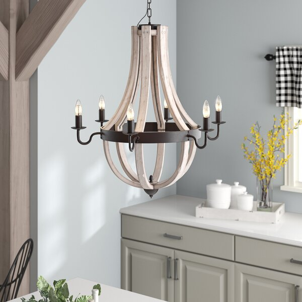 Phifer 6-Light Empire Chandelier by August Grove