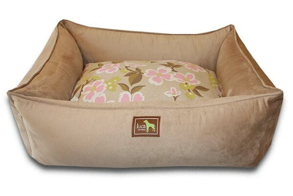 Meadow Easy-Wash Cover Lounge Donut Dog Bed by Luca For Dogs