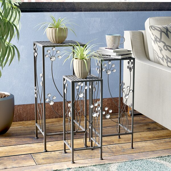 Chaim 3 Piece Plant Stand Set by Latitude Run