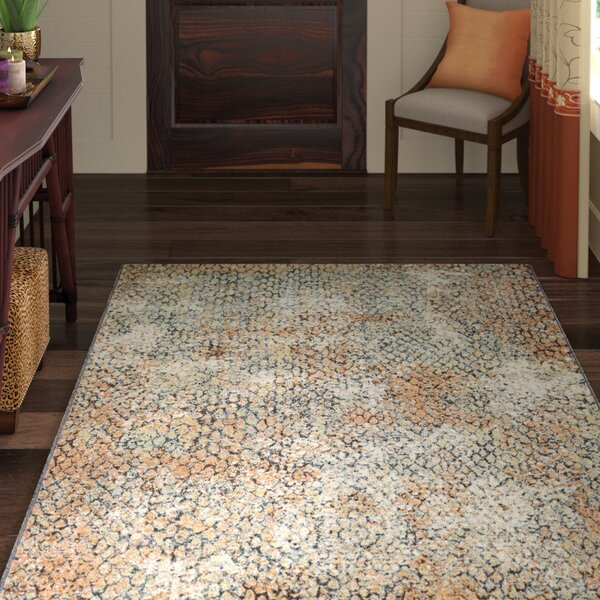 Scarlett Earthtones Area Rug by World Menagerie