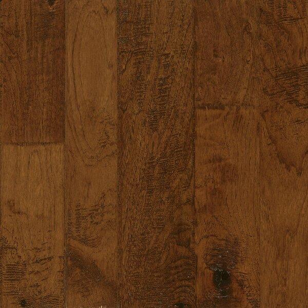 Artesian Random Width Engineered Hickory Hardwood Flooring in Cinnabar Blush by Armstrong Flooring