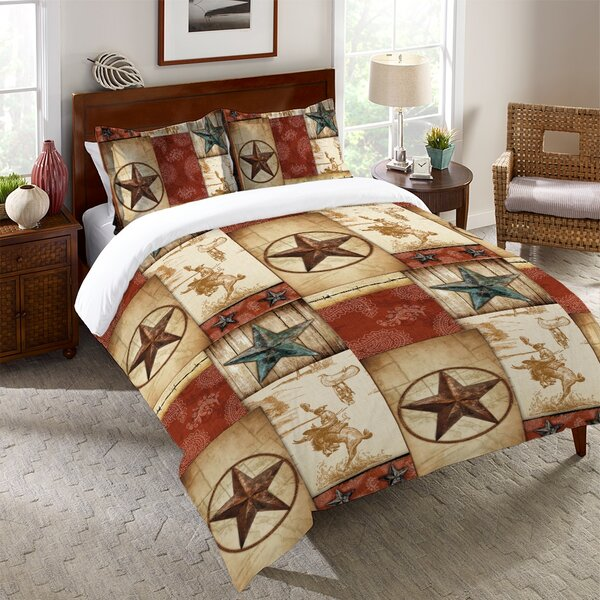 Fredela Rodeo Patch Single Duvet Cover