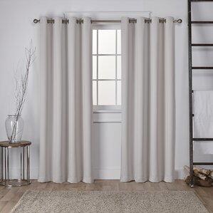 bedroom curtains. Tamara Solid Room Darkening Thermal Grommet Curtain Panels  Set of 2 Curtains Drapes You ll Love Wayfair