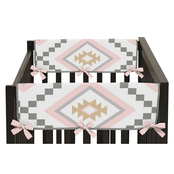 Aztec Rail Guard Cover (Set of 2) by Sweet Jojo Designs