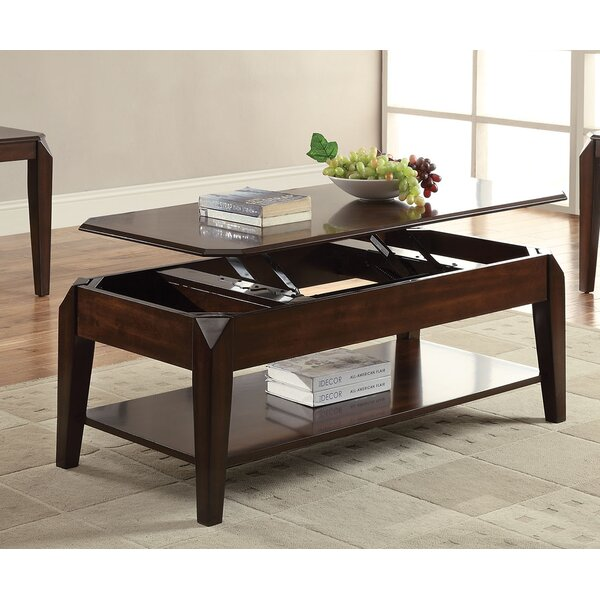 Salamone Coffee Table With Storage With Lift Top By Ebern Designs