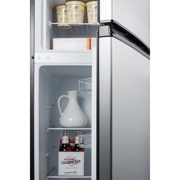 7.1 cu. ft. Compact Refrigerator with Freezer by Summit Appliance