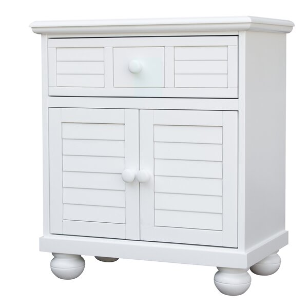 Jalyn 1 Drawer Nightstand by Rosecliff Heights
