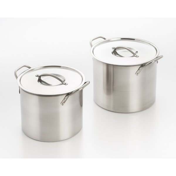 Stock Pot Set with Lid by Cook Pro