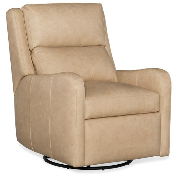 Willow Leather Power Wall Hugger Recliner with Articulating Headrest by Bradington-Young