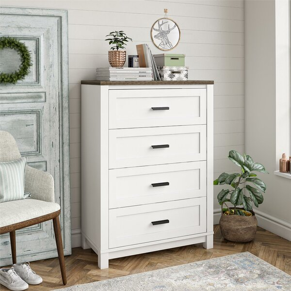 Huitt 4 Drawer Chest by Gracie Oaks