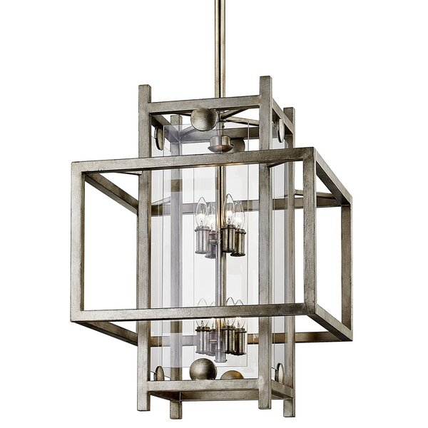 Pascal 8 - Light Lantern Square Chandelier by 17 Stories 17 Stories