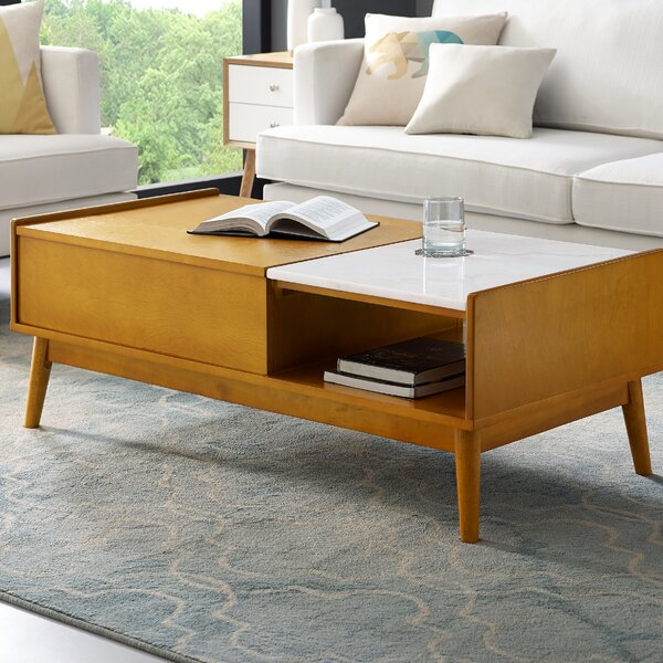 Easmor Coffee Table with Storage by Langley Street