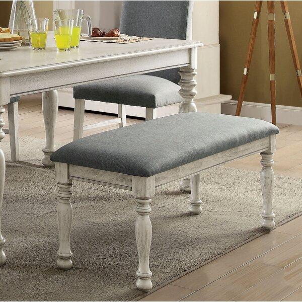 Kanisha Transitional Upholstered Bench by Ophelia & Co. Ophelia & Co.