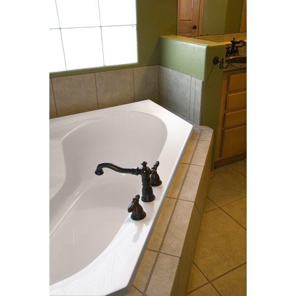 Designer Rincon 59 x 59 Whirlpool Bathtub by Hydro Systems
